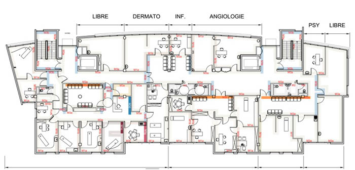 plan maison medicale